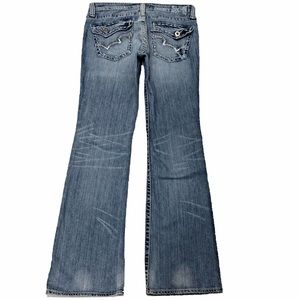 Big Star Casey K 31X33 Bootcut Low Rise Fit Jeans